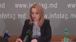 """Conferință de presă susținută de avocatul Ana Ursachi cu tema """"Vizita în Moldova a șefului Comitetului de monitorizare APCE Stephen Schennach, care intenționează să-i viziteze pe Grigore Petrenco și Vlad Filat"""""""