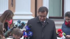 Declarațiile lui Marian Lupu după consultările președintelui Nicolae Timofti cu liderii PL, PLDM, PD și grupul Leancă, în vederea desemnării unui candidat la funcția de prim-ministru