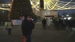 Deschiderea primului Târg de Crăciun în orașul Orhei