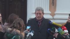 Declarațiile lui Mihai Ghimpu după consultările președintelui Nicolae Timofti cu liderii PL, PLDM, PD și grupul Leancă, în vederea desemnării unui candidat la funcția de prim-ministru