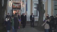 Declarațiile președintelui Nicolae Timofti după consultările cu liderii PL, PLDM, PD și grupul Leancă, în vederea desemnării unui candidat la funcția de prim-ministru