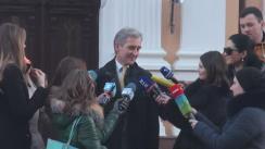 Declarațiile lui Iurie Leancă după consultările președintelui Nicolae Timofti cu liderii PL, PLDM, PD și grupul Leancă, în vederea desemnării unui candidat la funcția de prim-ministru