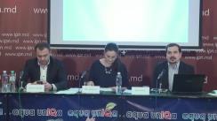 """Conferința de presă organizată de Centrul Parteneriat pentru Dezvoltare cu tema """"Lansarea Indexului Egalității de Gen 2015"""""""
