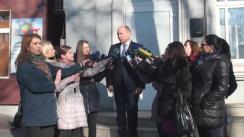 Declarațiile lui Valeriu Streleț după consultările prim-mininistrului desemnat Ion Sturza cu Partidul Liberal Democrat din Moldova