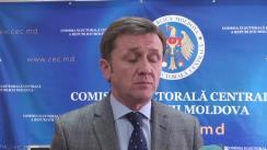 Declarațiile lui Iurie Ciocan după Ședința Comisiei Electorale Centrale din 23 decembrie 2015