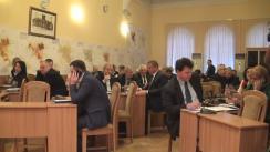 Ședința săptămânală a serviciilor primăriei Chișinău din 28 decembrie 2015
