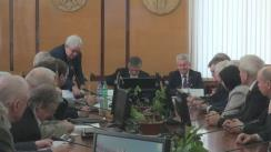 Consultările prim-ministrului desemnat Ion Sturza cu rectorii universităților din Republica Moldova