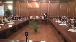 Consultările prim-ministrului desemnat Ion Sturza cu societatea civilă