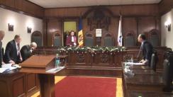 Curtea Constituțională - Examinarea sesizării privind controlul constituționalităţii Decretului Președintelui Republicii Moldova referitor la desemnarea candidatului pentru funcția de prim-ministru