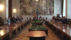Consultările publice ale prim-ministrului desemnat Ion Sturza cu reprezentanții Congresului Autorităților Locale din Moldova