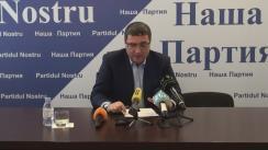 """Conferința de presă susținută de liderul Partidului Nostru, Renato Usatîi, cu tema """"Totaluri și perspective: 2016 va deveni anul victoriei noastre"""""""