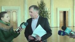 Declarațiile lui Ion Sturza după întrevederea cu reprezentanții Congresului Autorităților Locale din Moldova