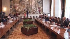 Prezentarea echipei și programului de guvernare de către candidatul desemnat la funcția de prim-ministru, Ion Sturza