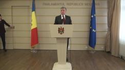 Declarațiile lui Ion Sturza după ședința Parlamentului din 4 ianuarie 2016