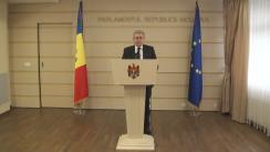 Declarațiile lui Mihai Ghimpu după ședința Parlamentului din 4 ianuarie 2016