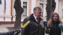 Declarații după întrevederea fostului candidat la funcția de prim-ministru Ion Sturza cu președintele Republicii Moldova, Nicolae Timofti