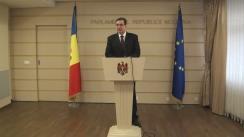 Declarațiile lui Marian Lupu după ședința Parlamentului din 4 ianuarie 2016