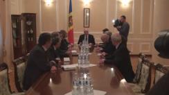 Declarațiile reprezentanților fracțiunii PLDM după consultările cu președintele Republicii Moldova, Nicolae Timofti, în vederea desemnării unui nou candidat la funcția de prim-ministru