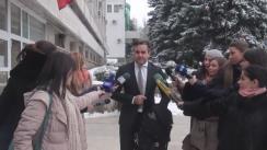 Declarațiile avocatului Igor Popa după decizia Judecătoriei Buiucani privind prelungirea mandatului de arest cu 90 de zile a ex-premierului Vlad Filat