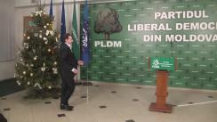 Declarații după ședința Consiliului Politic Național al PLDM din 8 ianuarie 2016