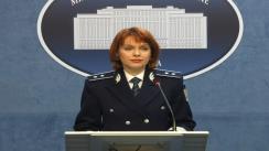 Declarația de presă a purtătorului de cuvânt al Ministerului Afacerilor Interne, Monica Dajbog, privind asigurarea climatului de ordine și siguranță publică și gestionarea situațiilor de urgență din această săptămână