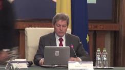 Ședința Guvernului României din 13 ianuarie 2016 (imagini protocolare)