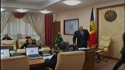 Ședința Guvernului Republicii Moldova din 14 ianuarie 2016