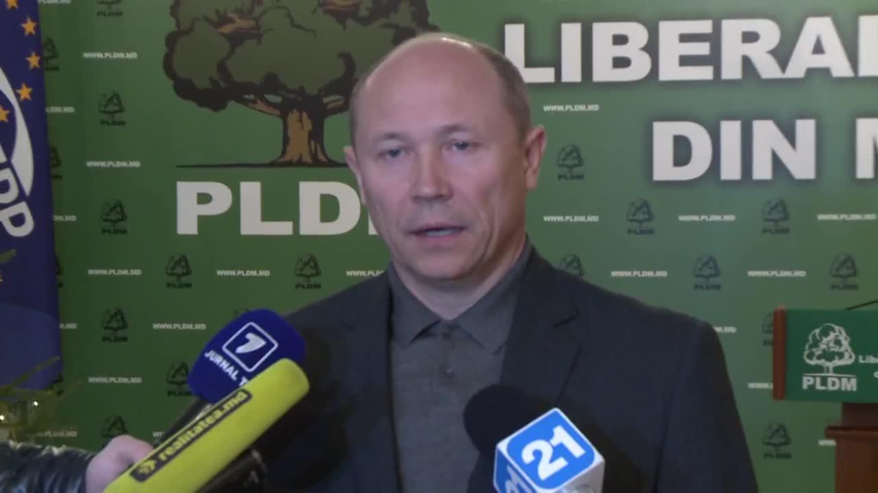 Declarațiile lui Valeriu Streleț după ședința biroului permanent PLDM