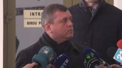 Declarațiile lui Ion Balan după ședința fracțiunii PLDM