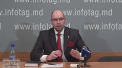 """Conferință de presă cu tema """"Ion Varaniță explică cum Partidul Democrat a monopolizat toată țara"""""""