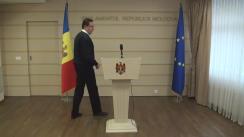 Declarațiile lui Marian Lupu după o nouă rundă de negocieri pentru crearea unei noi majorități parlamentare