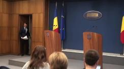 Declarația purtătorului de cuvânt al Guvernului, Dan Suciu, după ședința Guvernului României din 13 ianuarie 2016