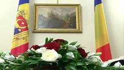 Întrevederea peședintelui României, Traian Băsescu, cu prim-ministrul, Republicii Moldova, Vlad Filat. Imagini protocolare preluate de pe gov.md