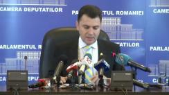 Conferință de presă susținută de vicepreședintele Comisiei pentru comunitățile de români din afara granițelor țării, Mircea Dolha, privind vizita de lucru în Regatul Norvegiei cu privire la cazurile Bodnariu și Nan