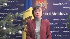 Declarațiile Corinei Fusu după ședința Guvernului Republicii Moldova din 14 ianuarie 2016