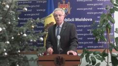 Declarațiile lui Gheorghe Brega după ședința Guvernului Republicii Moldova din 14 ianuarie 2016