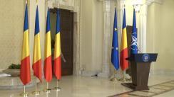 Ceremonia de decorare a unor personalități din domeniul culturii, de către președintele României, Klaus Iohannis