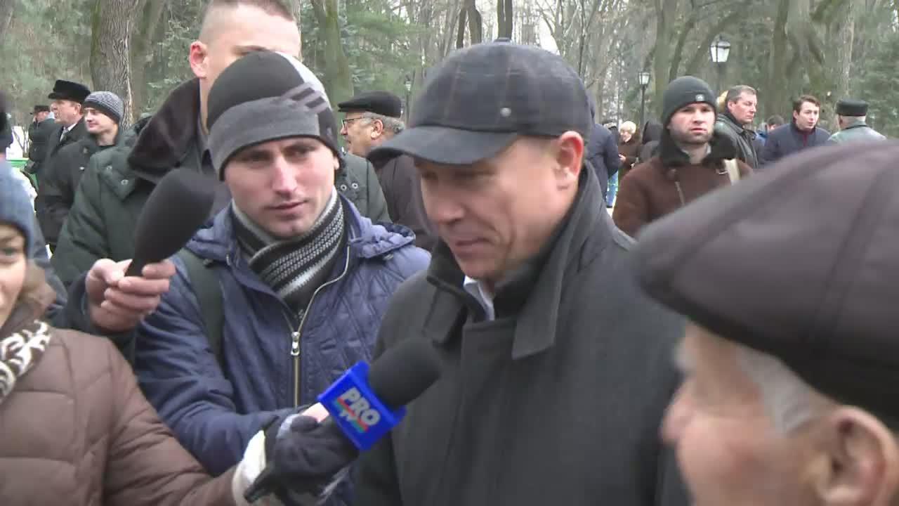 Declarațiile lui Valeriu Streleț după depuneri de flori la bustul poetului Mihai Eminescu