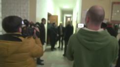 Ședința Curții de Apel Chișinău de examinare a cazului lui Ion Rusu