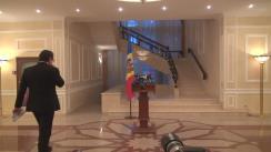 Briefing susținut de prim-ministrul desemnat, Ion Păduraru