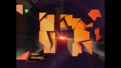 """Emisiunea """"Politica"""" cu Natalia Morari. Invitați: Oazu Nantoi, Ion Dron, Alexei Tulbure, Sergiu Mocanu"""