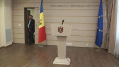 Declarațiile lui Ion Balan după consultările prim-ministrului desemnat, Pavel Filip, cu cei 7 deputați din fracțiunea Partidului Liberal Democrat din Moldova
