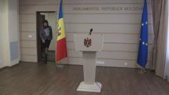 Declarațiile Valentinei Buliga după consultările prim-ministrului desemnat, Pavel Filip, cu fracțiunea Partidului Democrat din Moldova