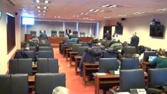 Comandamentul de iarnă convocat la Primăria municipiului București din 18 ianuarie 2016