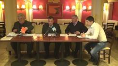 Club de presă cu participarea experților în drept constituțional privind ultimele evenimente politice din țară