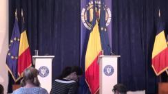 Conferință de presă susținută de ministrul Agriculturii și Dezvoltării Rurale, Achim Irimescu, privind rezultate vizitelor recente la Berlin și Bruxelles
