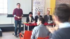 """Dezbaterea organizată de Expert Forum cu tema """"Cum comunică statul cu cetățenii: experiențe din Norvegia și România"""""""
