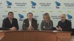 """Conferință de presă organizată de Partidul Liberal Reformator cu tema """"Dosarul concesionării ilegale a Aeroportului Internațional Chișinău: maraton ajuns pe ultima sută de metri"""""""