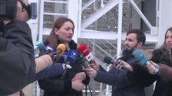 Declarațiile procurorului Adriana Bețișor după ședința Curții de Apel Chișinău privind examinarea recursului avocaților ex-premierului Vlad Filat