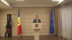 Declarațiile lui Iurie Leancă după ședința Parlamentului din 20 ianuarie 2016